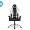 AKRACING MASTERS SERIES PREMIUM GAMING CHAIR – SILVER
