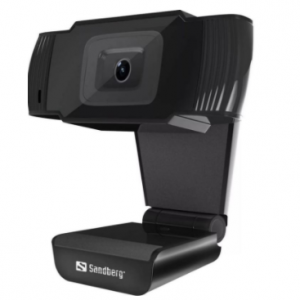 Sandberg USB Webcam – Skype, Teams & Zoom Compatible