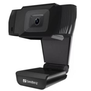 Sandberg USB Webcam – Skype, Teams & Zoom Compatible