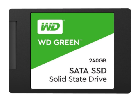 WD Green 240GB 2.5″ 7mm Solid State Drive